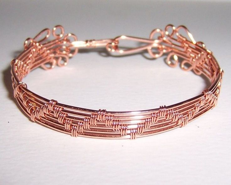 Perfect Wire Woven Bracelet Tutorial Inspiration - Simple Wiring ...