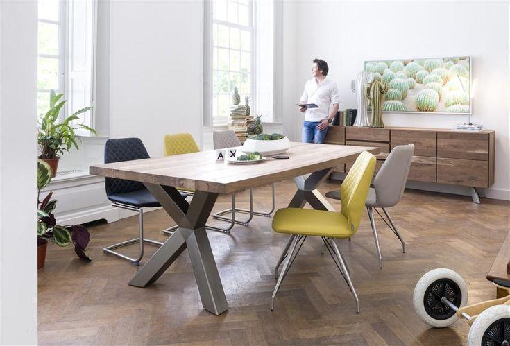 Dressoir 3 deuren + 2 laden, br. 220 cm - hout - Dressoirs - Kasten - Wonen - Producten - Deba Meubelen