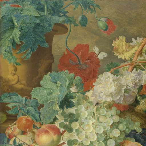 Still Life with Flowers and Fruit, Jan van Huysum, c. 1728 - Search - Rijksmuseum