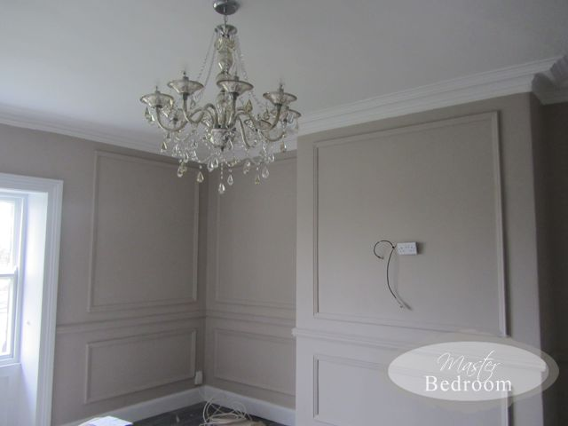 "Farrow and Ball Elephants Breath Bedroom. Now how can you not like a color called ""elephants breath""???"