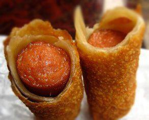 Hot Dog Egg Rolls