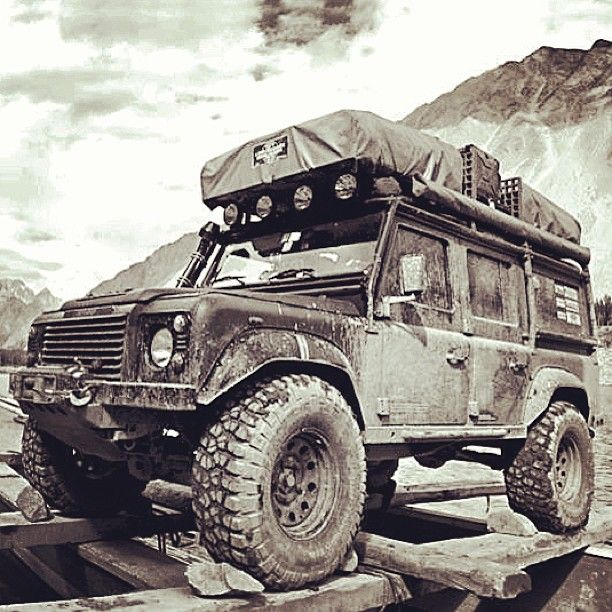A legend that continues to be strong and reliable #LandRover #Heritage
