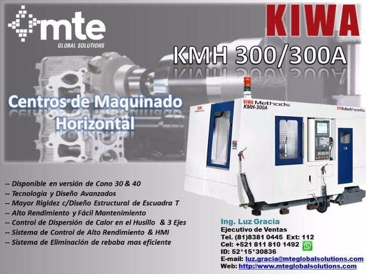 Kiwa es el vendedor de Centros de Maquinado de mayor calidad en Japón. Las exportaciones mundiales de sus productos a Estados Unidos, México y Canadá comenzaron en 1981.La KMH-300 tiene el mayor eje de desplazamiento y capacidad de carga más pesada de su clase. Todas las máquinas de la serie KMH ofrecen una eje-B de rotación completa integrada.Es una maquina rigida y compacta ya que se usa acero Meehanite en la mayor parte de los componentes.En MTE encontrara servicio de calidad ya que…