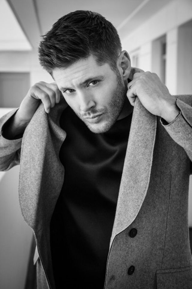 Jensen Ackles' 'Harper's Bazaar' Shoot Will Make Your Mouth Dry | Hollyscoop hes so hot.