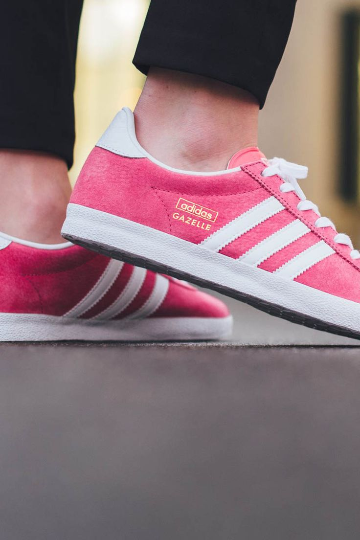 Lush Pink Gazelle #sneakers #adidasoriginals  Get this pair from Masdings.com