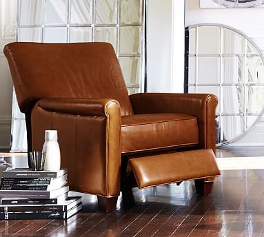$1299.00 - Irving Leather Recliner #potterybarn