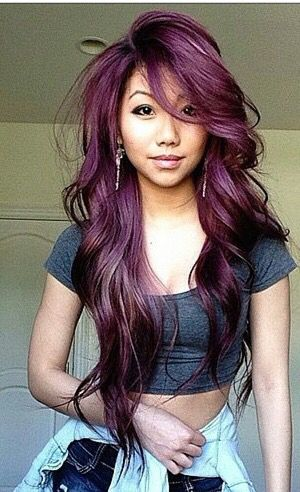 I Love This Color Hair Ideas