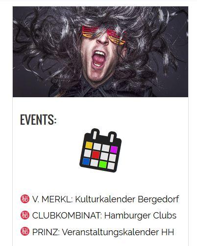 Veranstaltungstipps, Musik, Konzerte, Clubs in Hamburg und Bergedorf im Blog heidivomlande.de