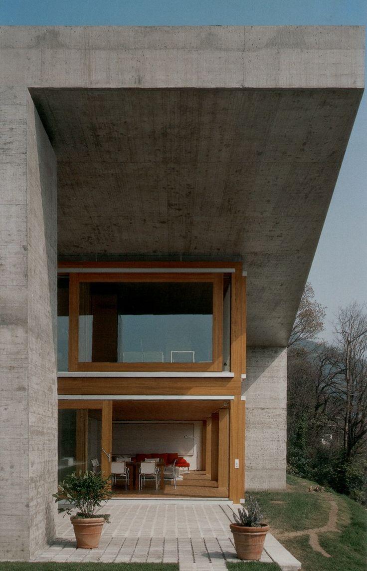 Livio Vacchini e Marco Azzola / Casa Koerfer, ronco s. ascona_2001-2005