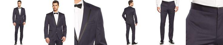 BOSS HUGO BOSS Navy Slim-Fit Tuxedo