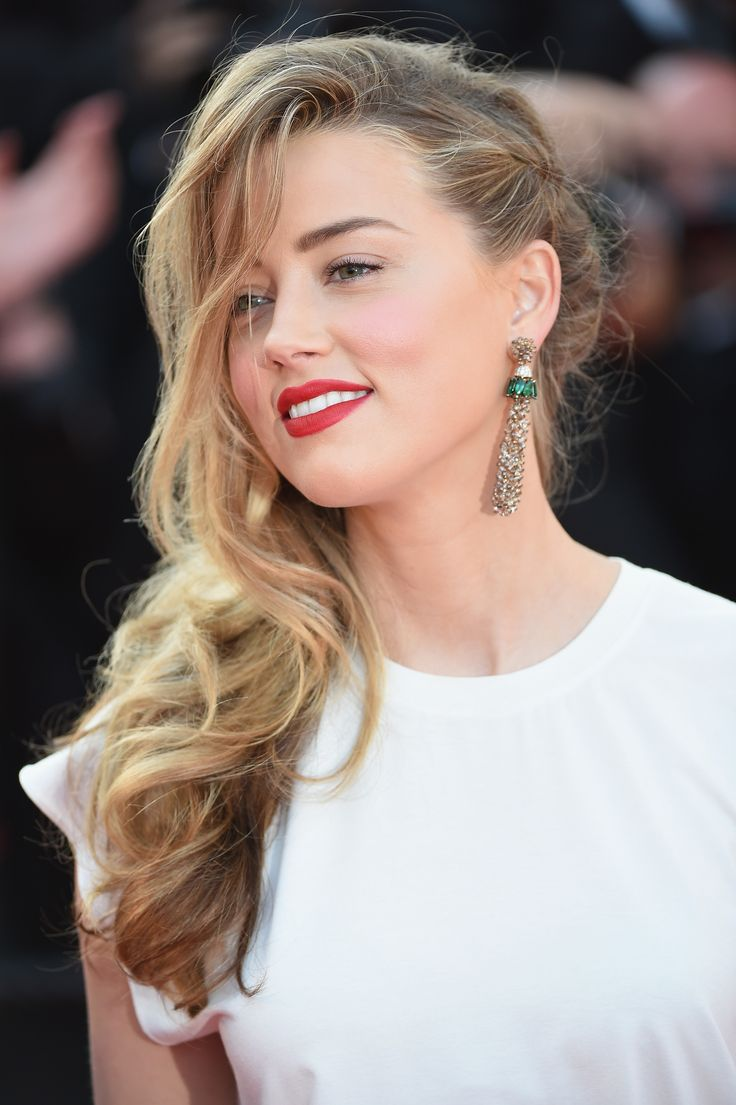 amber heard  http://newsgaze.com/2015/09/05/johnny-depp-and-amber-heard-more-glamorous-and-love-than-ever-in-venice/two-days-one-night-premiere-the-67th-annual-cannes-film-festival/