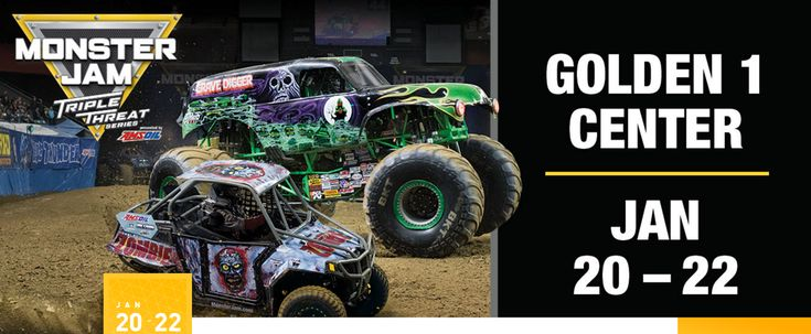 Enter to win a Family 4-Pack of tickets to Monster Jam courtesy of ABC10!