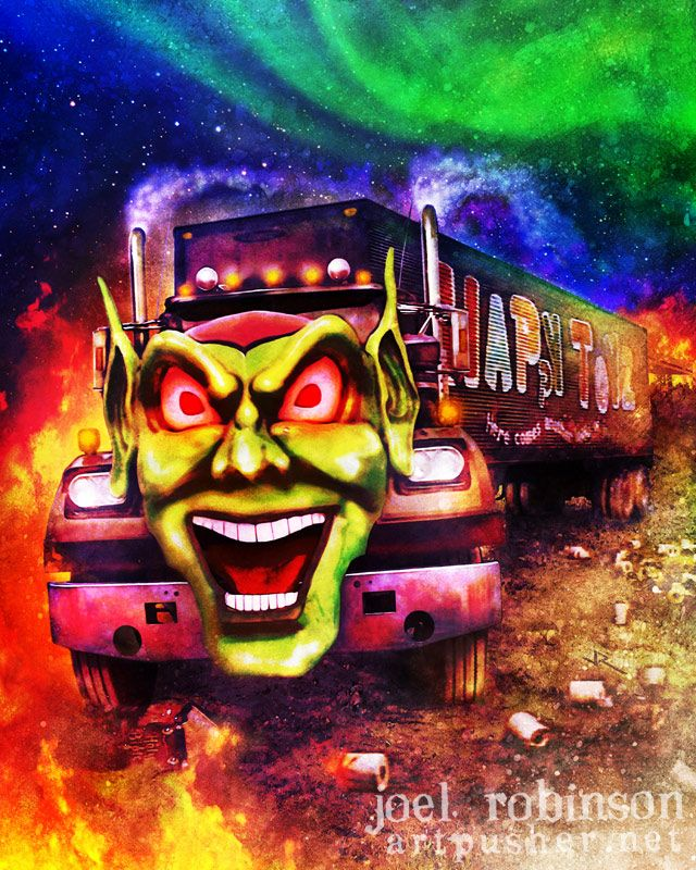 Maximum Overdrive. I loved this movie when i was younger