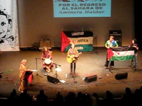 Concierto en solidaridad  con Aminetu Haidar  (Yahuti Sahara)