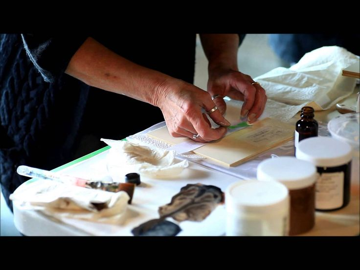 Cottage Paint Orange Oil Transfers: Image transfers on painted wood or fabric using orange oil.