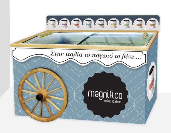 Italian Premium Ice Cream by Sarah Madeleine Schaumburg, via Behance