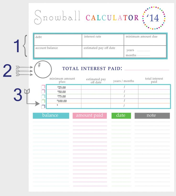 Best 25+ Debt snowball calculator ideas on Pinterest Pay off - net pay calculator