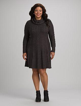 Best 25  Plus Size Sweater Dress ideas on Pinterest   Size ...