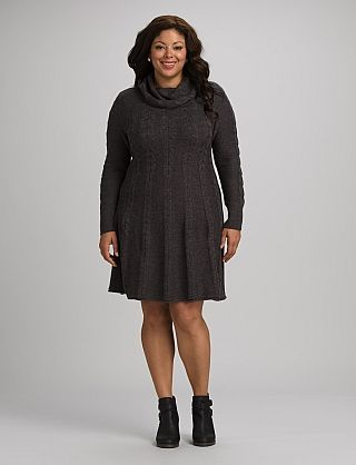 Best 25  Plus Size Sweater Dress ideas on Pinterest | Size ...