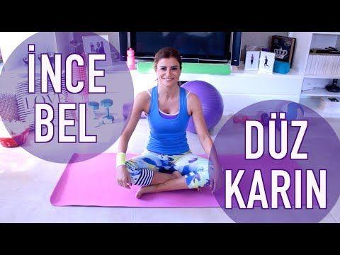Karın ve Bel Bölgesi İçin 4 Egzersiz - YouTube
