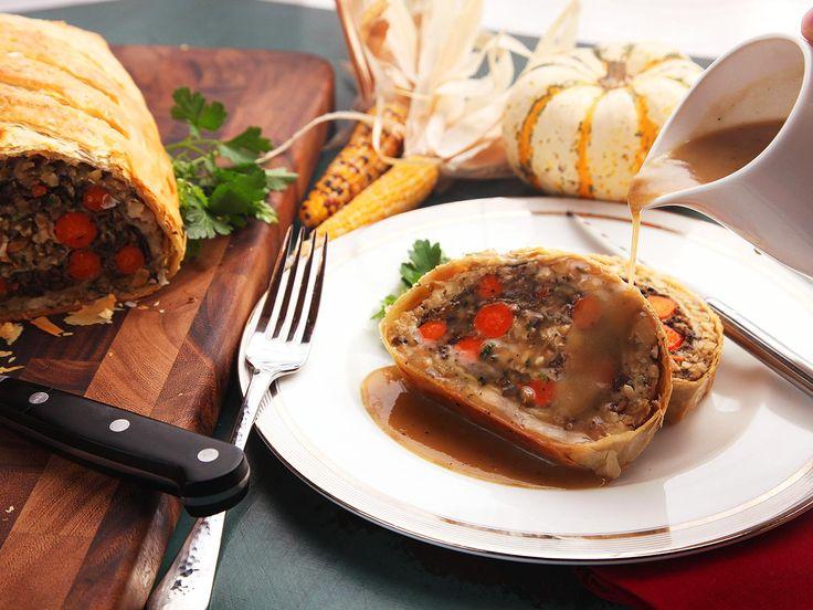 Best vegetable wellington ideas on pinterest vegan