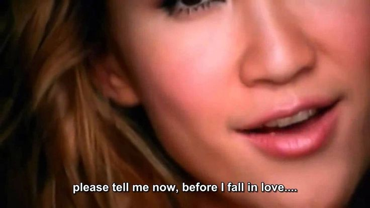 Before I fall in love - Coco Lee with captions