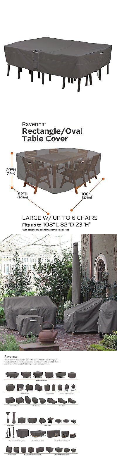 Outdoor Furniture Covers 177031: Large Outdoor Patio Furniture Cover Rectangle Chair Table Waterproof Garden Deck -> BUY IT NOW ONLY: $72.2 on eBay!