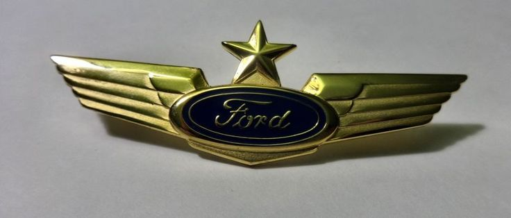 Wings Ford Motor Company Airline Winged Lapel Airmen Pilot Pins #FordMotorCompany #Pin