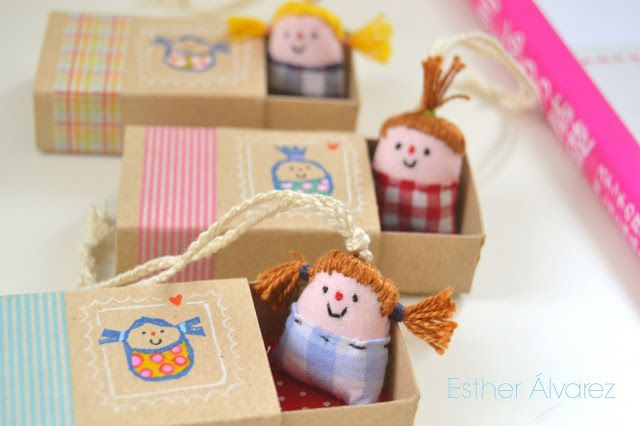 "I love all things ""small and cute"" and I am a particular fan of matchbox crafts too - what is not to love about a matchbox? It is small and it fits in your pocket and anything you make from…"