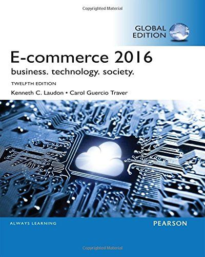 E-commerce 2016 : business. technology. society