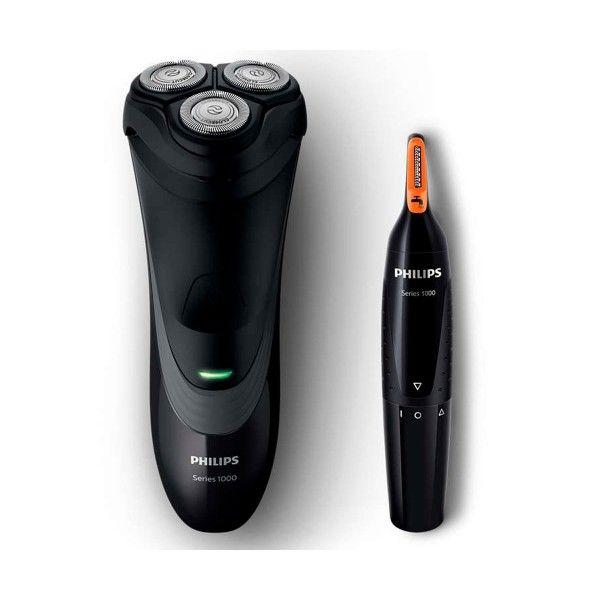 Philips S1520 41 Afeitadora Electrica Shaver Series 1000 En Seco Y Recortadora De Nariz En 2020 Maquina De Afeitar Afeitar Nariz