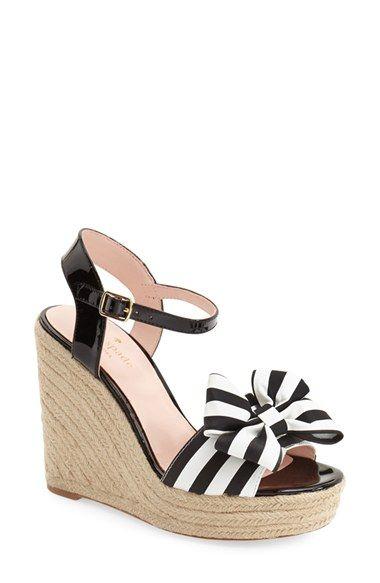 kate spade new york 'darya' wedge sandal (Women) available at #Nordstrom