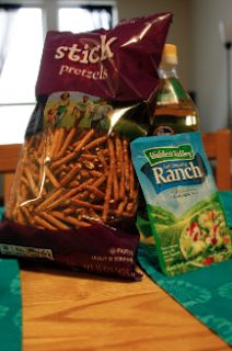 the good, the bad, and the tasty.: Zesty Ranch Pretzel Sticks
