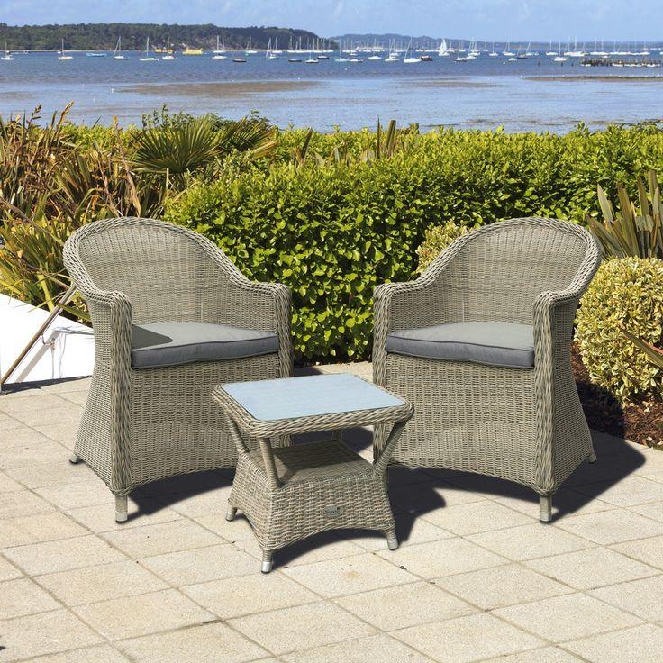 Bonsoni Hasting Rattan 2 Seater Tea For Two Set In Chic Walnut Garden  Outdoor Furniture. Best 25  Rattan garden furniture sale ideas on Pinterest