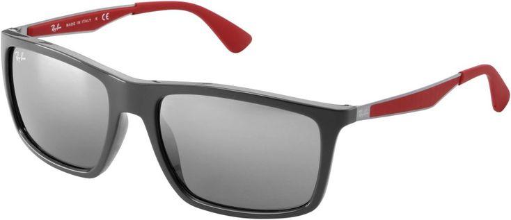 RAY-BAN - 0RB4228 618588 58 - Sonnenbrille schwarz/ rot Ausrüstung Brillen [eF9lzkew_230425001] - €45.88 - Rayban Sonnenbrillen - Rayban Billig Kaufen