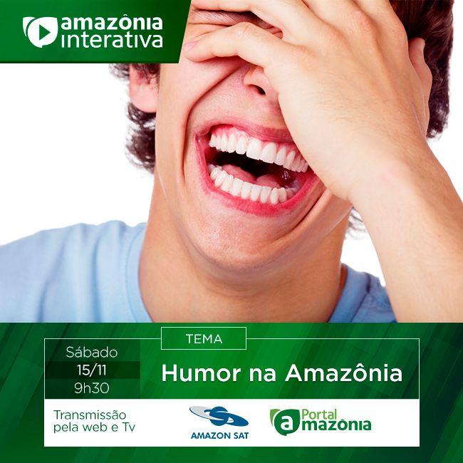 Divulgação do Programa #Amazônia #Interativa para TV. 15/11/2014