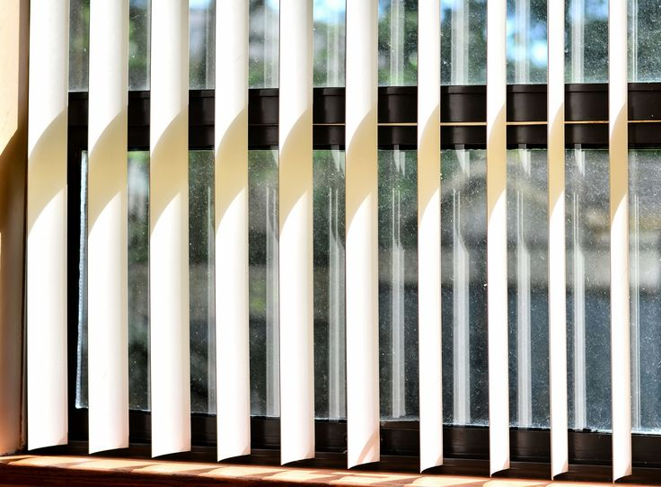 vertical blinds in dublin fine fabric