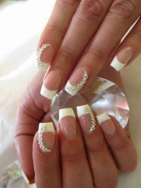 Fabulosos diseños de uñas | Uñas con brillantes