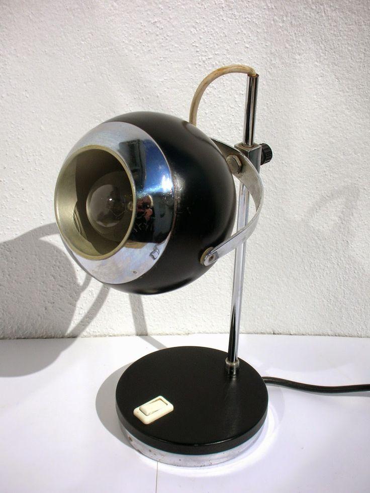 SKYSCRAPER CAPE TOWN - 20th CENTURY CLASSICS: Space Age German Eyeball Desk Lamp 60's/70's Era