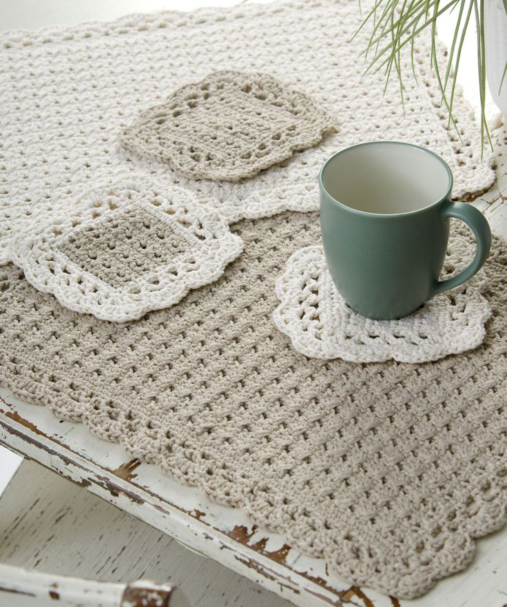 Options Placemat & Coasters: free pattern