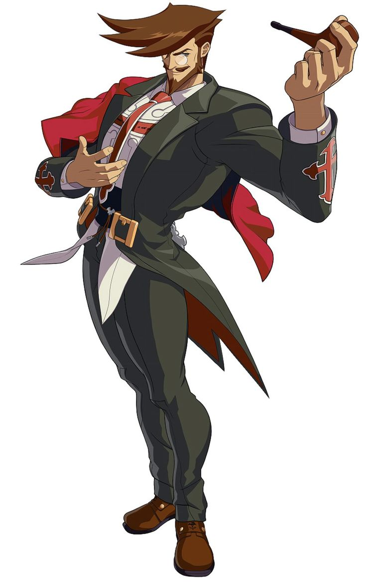 ✧ #characterconcepts ✧ Slayer from Guilty Gear Xrd -Sign-