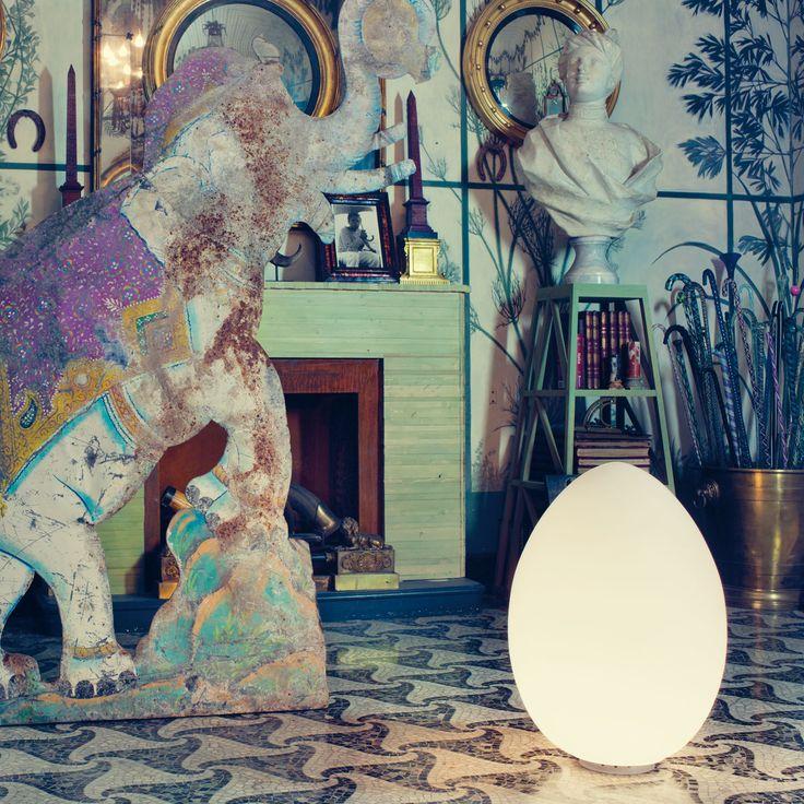fontanaarte lampada tavolo uovo direzione artistica gio ponti