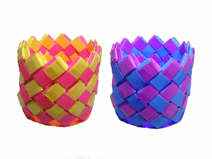 These Are Easy Craft Ideas For Kids Which Shows How To Make Paper Vase By Steps This Is A Just Simple Technique Called Origami