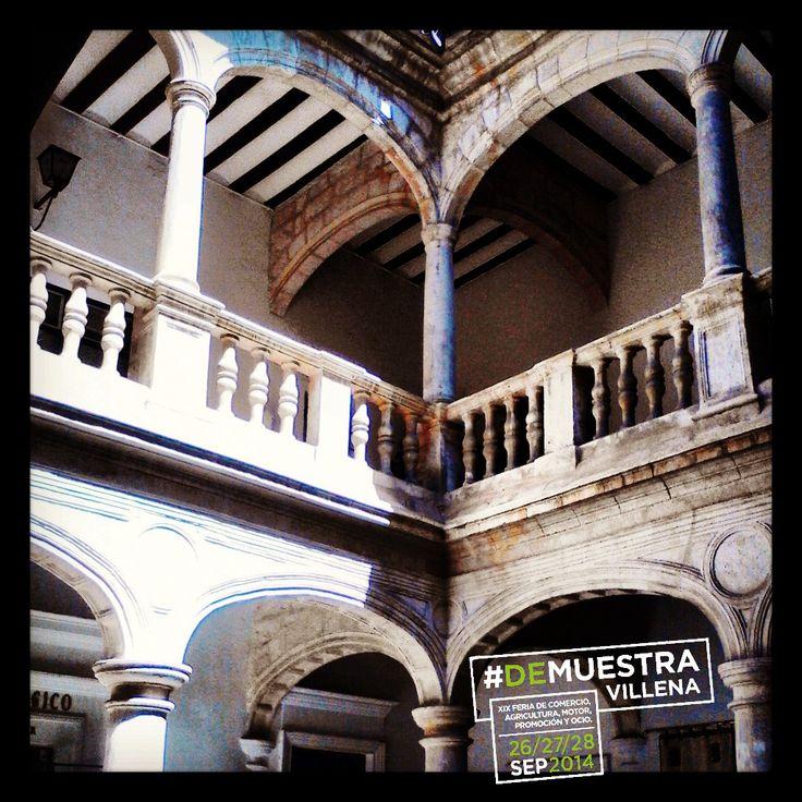Patio del Palacio Municipal. #DeMuestraVillena #Villena  www.muestravillena.villena.es  www.facebook.com/Muestravillena  @muestravillena