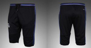 2017 Cheap 3/4 Pants Real Madrid Replica Football Shirt Black [AFC131]