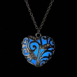 Mystical Blue - Glow-in-the-Dark (Glowie) Necklace (price includes FREE postage within South Africa)