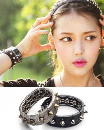 Studded Casting Bracelet
