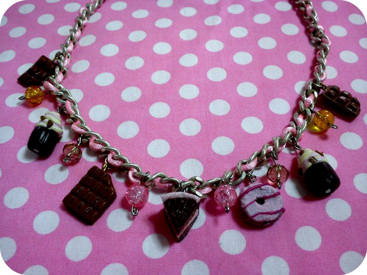 statement necklace  with sweets