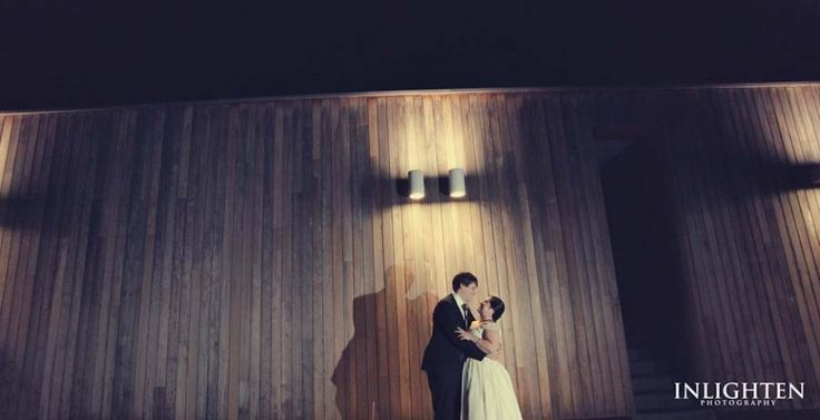 Sergeants Mess - Inlighten Photography-Bride and groom night portrait idea!