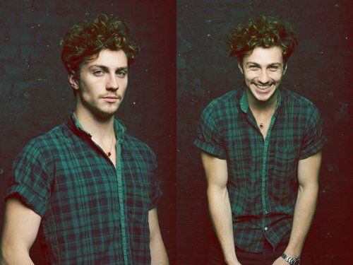 aaron johnson when he's not playing a nerd he's really hot.
